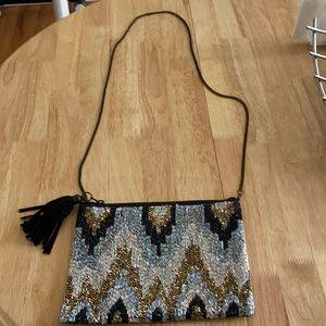 Colorful sequin bag